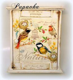 Keď vtáčiky spevajú by bibidekoracie - SAShE.sk - Handmade Dekorácie