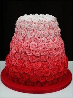 pasteles de rosas - Buscar con Google