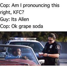 Racist cop meme
