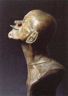 Franz Xaver Messerschmidt, Character Head: The Beaked 1770 Alabaster, height: 43 cm Österreichische Galerie, Vienna