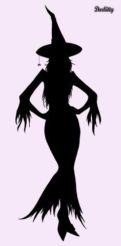 halloween silhouette   Silhouette d'Halloween