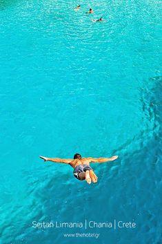 Find the deepest, clearest blue in Seitan Limania beach! #crete #greece #chania #summer #vacations #holiday #travel #sea #sun #sand #nature #landscape #island #TheHotelgr #nature #view #holidays #travelling #instatravel #pool #pinterest #villa #urlaub #ferien #reisen #meerblick #aussicht #sommer #thehotelgr