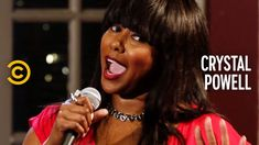 Crystal Powell demonstrates the difference in how her friends deliver bad news and breaks down how black singers and white singers approach singing the natio. British English, American English, American History, Full Comedy, Stand Up Comedy, Cartoon Network Adventure Time, Adventure Time Anime, English Comedy, Singing The National Anthem