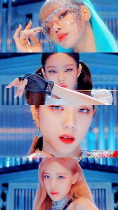 'Kill this love'- blackpink Blackpink Jisoo, K Pop, Kpop Girl Groups, Korean Girl Groups, Kpop Girls, Divas, Kim Jennie, Blackpink Youtube, Blackpink Poster