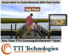 Happy guests provide positive feedback about your property.  The ConciergeOnDemand™ tablet helps guests get the most out of their stay and inspires them to increase their satisfaction scores.  www.ttitel.com #hospitality #hotel #travel #checkin