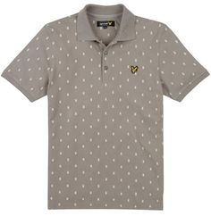 9a9109ab2d3b Landau now stock the iconic Lyle & Scott Vintage collection for Men.  Printed Polo