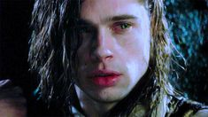 """Interview with the Vampire"" (1994) >> Brad Pitt is SO BEAUTIFUL!! <3 