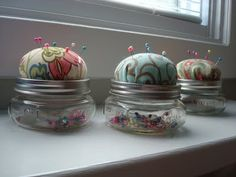 I adore this...anyone know where I can buy just one, itty bitty canning jar with ring and lid?