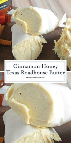 Cinnamon Honey Texas Roadhouse Butter will take your bread to the next level! Ci… Cinnamon Honey Texas Roadhouse Butter takes your bread to the next level! Cinnamon butter is super easy to prepare with 2 ingredients and only takes 5 min! Texas Roadhouse Butter, Texas Roadhouse Recipes, Texas Roadhouse Rolls, Flavored Butter, Homemade Butter, Cinnamon Butter, Honey And Cinnamon, Ground Cinnamon, Dips