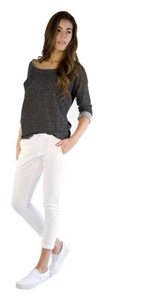 au lait | Premium Nursing Tops | The Day and Night Nursing Sweatshirt in Natural | www.aulaitshop.com