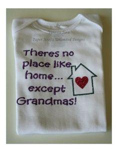Theres no place like home except Grandma's! #etsy #craftshout #hep #amazingetsians #handmad #etsymntt