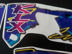 KAWASAKI KLX 650 DECALS !!!CALCOS, excellent quality!!FREE SHIPPING