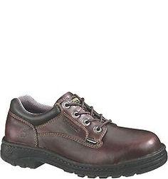 W04373 Wolverine Men's Exert DuraShocks Safety Shoes - Briar
