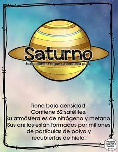 EL SISTEMA SOLAR - Imagenes Educativas Cartoon Stickers, English Vocabulary, Solar System, Geography, Planets, Spanish, Homeschool, Universe, Education