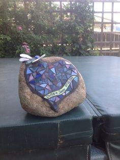 Mosaic Rocks, Mosaic Art, Mosaics, Mosaic Projects, Rock Design, Bean Bag Chair, Stained Glass, Presents, Community