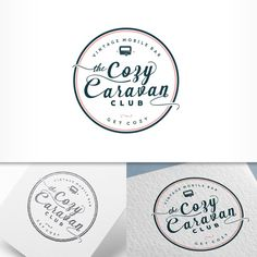 Develop our identity: The Cozy Caravan Club - vintage mobile bars by katie_kat