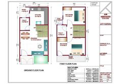 20 X 40 House Plans Awesome Home Design 50 Lovely 2 600 Sq Ft Entrancing - musicdna Plan Duplex, Duplex Floor Plans, Small House Floor Plans, My House Plans, Cottage House Plans, Home Map Design, Duplex House Design, Home Design Plans, Plan Design