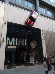 Mini Cooper Store! A store? Where can I find one of these?!