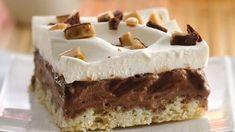 Fudgy Chocolate Chip-Toffee Bars Recipe - Pillsbury.com