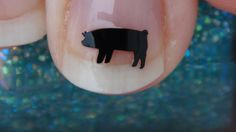 SHOW PIG Nail Art Decals Set of 50 Vinyl Stickers by TrinityNails, $4.99