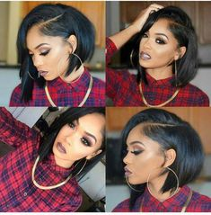 Online Shop Rabake Bob Wig Brazilian Straight Short Lace Front Human Hair Wigs For Black Women Pre Plucked With Baby Hair Remy Hair,factory cheap price with store coupon,DHL worldwide Shipping Trending Hairstyles, Short Bob Hairstyles, Black Women Hairstyles, Braided Hairstyles, Bob Haircuts, Beautiful Hairstyles, Curly Hair Styles, Natural Hair Styles, Bob Lace Front Wigs
