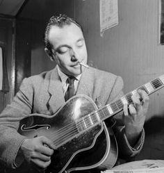 I like to listen to Django Reinhardt while I cook.