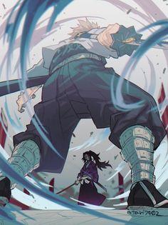 Kimetsu no Yaiba (Demon Slayer) Image - Zerochan Anime Image Board Manga Anime, Art Anime, Anime Demon, Manga Art, Anime Fight, Character Art, Character Design, Character Poses, Perspective Art