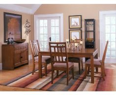 Oakbrook Rectangular Dining Room #CORT