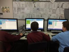 Finally...Code Club! It's rained nearly every Tuesday lunchtime this term!