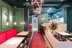 BOB & MARY – Burger & Salad restaurant by MEA Studio, Düsseldorf – Germany