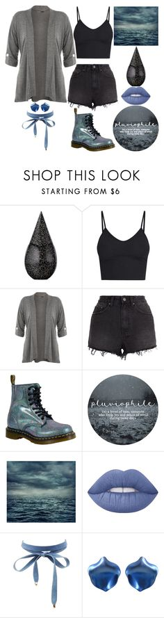 """Rainy Day"" by lucy-wolf ❤ liked on Polyvore featuring La Prairie, WearAll, Ksubi, Dr. Martens, Lime Crime and Charlotte Russe"
