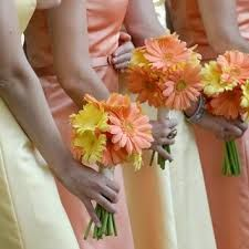 These bridesmaid wed