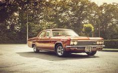 壁紙をダウンロードする 1966年, レトロ車, シボレーインパラ, セダン, クラシック, chevy impala
