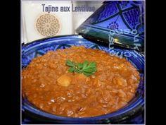 Easy Moroccan lentils Recipe طجين العدس - Sousoukitchen English Version