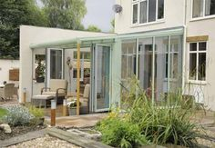 Lean-to Veranda Conservatory, a conservatory with a difference