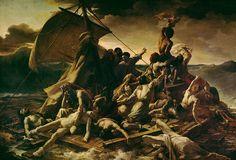"""Theodore Gericault, """"Raft of the Medusa,"""" 1819.  Oil on canvas."""