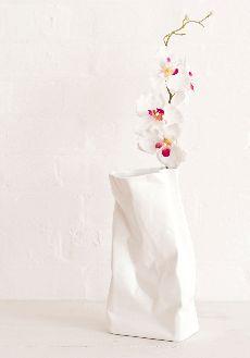 Crinkled vase