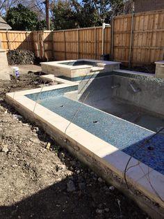 Hobert Pool under construction in Dallas.