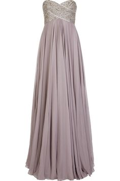 Marchesa Beaded silk-chiffon gown- don't bother me with silly numbers- Mexico?
