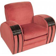 Streamline Art Deco chair