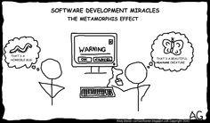 Software development miracles - metamorphis