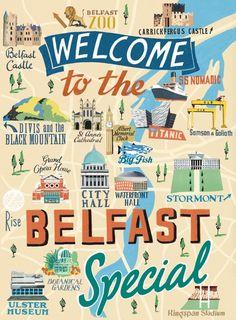 Belfast Map | Anna Simmons