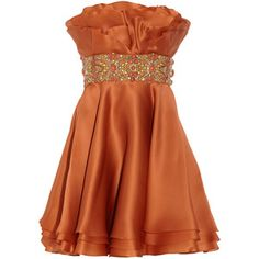 bridesmaid dress for a fall wedding. I personally would prefer it in a different color... But it's a beautiful dress!