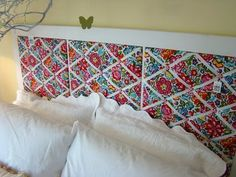 Made with vera bradley picture boards. Such a cute idea