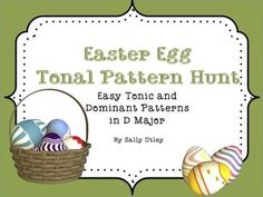 A seasonal game to reinforce or assess recognition of 8 easy tonic & dominant tonal patterns. Includes 8 practice slides, a game slide with all 8 patterns, and 8 pattern cards to print & laminate. Tonic patterns include arrangements of do-mi-so; dominant patterns include 3-note combinations of so-ti-re-fa. For practice, game or assessment, sing patterns with solfege, numbers or neutral syllables, or play on a melody instrument. This is a small set, but it is designed to have great…