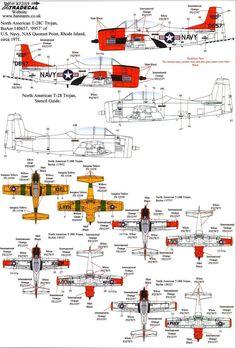 Xtra Decals 1 72 North American T 28B T 28c Trojan Advanced Trainer | eBay