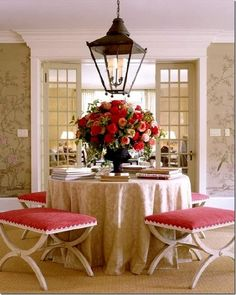 Chinoiserie Chic: Velvet and Chinoiserie