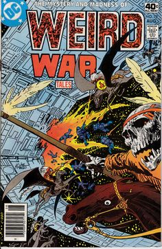 Weird War Tales 1971 DC 78 August 1979 Issue  DC by ViewObscura, $2.00