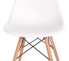 Krzesło Socrates białe, drewniane nogi, archonhome.pl - Krzesła kuchenne - zdjęcia, pomysły, inspiracje - Homebook