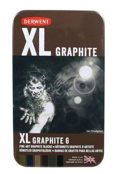 Art Shed Online - Derwent XL Coloured Graphite Tin 6 Asst, $35.95 (http://www.artshedonline.com.au/derwent-xl-coloured-graphite-tin-6-asst/)